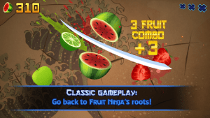 Fruit Ninja Classic MOD APK Android 2.4.5 Screenshot