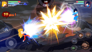 Stickman Warriors Super Dragon Shadow Fight MOD APK Android 1.1.2 Screenshot