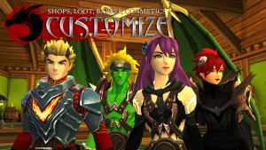 AdventureQuest 3D MMO RPG MOD APK Android 1.52.0 Screenshot