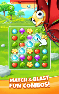 Best Fiends Stars Free Puzzle Game MOD APK Android 1.7.0 Screenshot