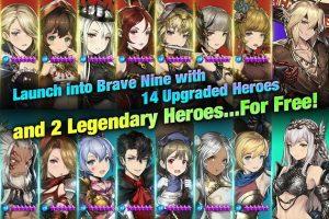 Brave Nine Tactical RPG MOD APK Android 1.58.9 Screenshot