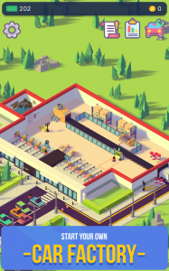 Car Industry Tycoon Idle Car Factory Simulator MOD APK Android 1.4 Screenshot