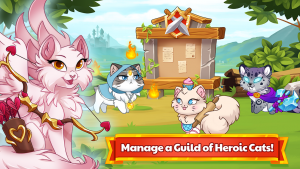 Castle Cats Idle Hero RPG MOD APK Android 2.13 Screenshot