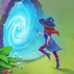 Charms of the Witch Magic Mystery Match 3 Games MOD APK android 2.17.0