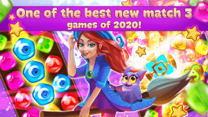 Charms Of The Witch Magic Mystery Match 3 Games MOD APK Android 2.17.0 Screenshot