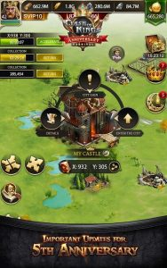 Clash Of Kings Newly Presented Knight System MOD APK Android 5.41.0 Screenshot