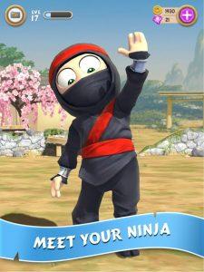 Clumsy Ninja MOD APK Android 1.32.2 Screenshot