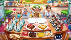 Cooking City Craze Chefs Cooking Games MOD APK Android 1.73.5017 Screenshot
