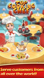 Cooking Town Craze Chef Restaurant Cooking Games MOD APK Android 11.9.5017 Screenshot