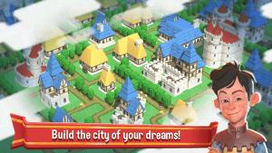 Crafty Town Merge City Kingdom Builder MOD APK Android 0.8.446 Screenshot