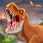 DINO WORLD Jurassic dinosaur game MOD APK android 11.72