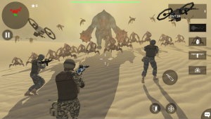 Earth Protect Squad Third Person Shooting Game MOD APK Android 2.00.32b Screenshot