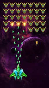 Galaxy Attack Alien Shooter MOD APK Android 27.4 Screenshot