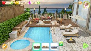 Homecraft Home Design Game MOD APK Android 1.5.17 Screenshot