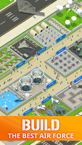 Idle Air Force Base MOD APK Android 0.17.1 Screenshot