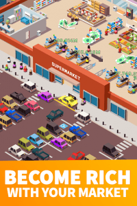 Idle Supermarket Tycoon Tiny Shop Game MOD APK Android 2.2.8 Screenshot