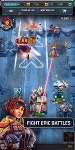 Idle War Heroes Tank Battle Simulator MOD APK Android 0.4.7 Screenshot