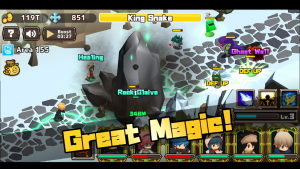 Killing Time Heroes The RPG MOD APK Android 1.2.5 Screenshot