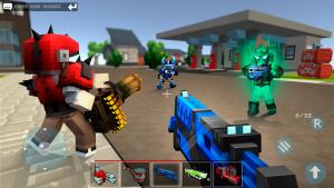 Mad GunZ Shooting Games, Online, Battle Royale MOD APK Android 2.1.7 Screenshot