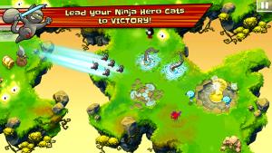 Ninja Hero Cats MOD APK Android 1.3.7 Screenshot