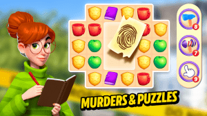 Small Town Murders Match 3 Crime Mystery Stories MOD APK Android 1.1.0 Screenshot