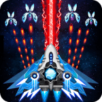 Space shooter Galaxy attack Galaxy shooter MOD APK android 1.433