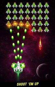 Space Shooter Galaxy Attack Galaxy Shooter MOD APK Android 1.433 Screenshot