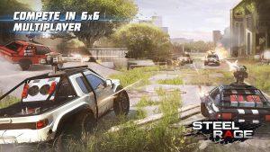 Steel Rage Mech Cars PvP War, Twisted Battle 2020 MOD APK Android 0.154 Screenshot