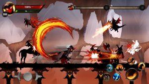 Stickman Legends Shadow War Offline Fighting Game MOD APK Android 2.4.63 Screenshot