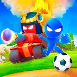Stickman Party 1 2 3 4 Player Games Free MOD APK android 1.9.6