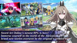 Sword Art Online Alicization Rising Steel MOD APK Android 1.13.0 Screenshot