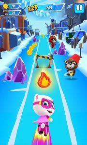 Talking Tom Hero Dash Run Game MOD APK Android 1.9.1.1089 Screenshot