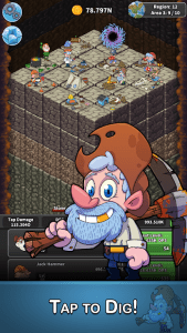 Tap Tap Dig Idle Clicker Game MOD APK Android 2.0.3 Screenshot