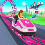 Thrill Rush Theme Park MOD APK android 4.4.40
