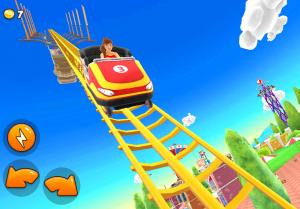 Thrill Rush Theme Park MOD APK Android 4.4.40 Screenshot