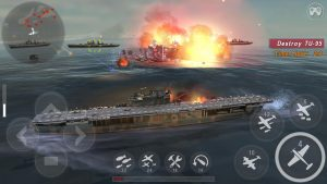 WARSHIP BATTLE 3D World War II MOD APK Android 3.0.9 Screenshot