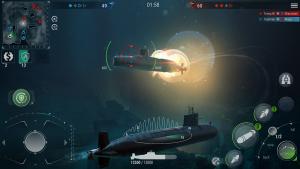 WORLD Of SUBMARINES Navy Shooter 3D Wargame MOD APK Android 2.0.4 B301244 Screenshot