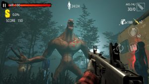 Zombie Hunter D Day MOD APK Android 1.0.403 Screenshot