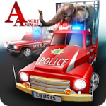 Angry Animals Police Transport MOD APK android 1.4