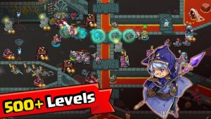 Crazy Defense Heroes Tower Defense Strategy Game MOD APK Android 2.3.7 Screenshot