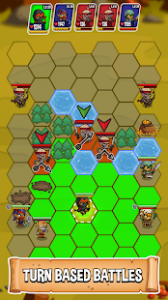 Five Heroes The King's War MOD APK Android 3.1.0 Screenshot
