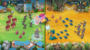 Game Of Nations Swipe For Battle Idle RPG MOD APK Android 2020.10.3 Screenshot