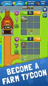 Idle Farm Tycoon Merge Simulator MOD APK Android 1.0 Screenshot