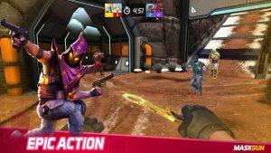MaskGun Multiplayer FPS Free Shooting Game MOD APK Android 2.500 Screenshot