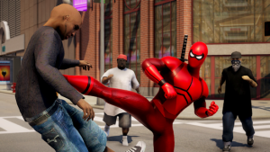POWER SPIDER Ultimate Superhero Game MOD APK Android 2.0 Screenshot