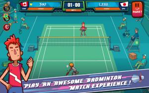 Super Stick Badminton MOD APK Android 1.4.2 Screenshot