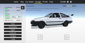 Tuner Z Car Tuning And Racing Simulator MOD APK Android 0.9.5.3.1 Screenshot