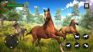 Wild Horse Family Simulator Horse Games MOD APK Android 1.1.9 Screenshot