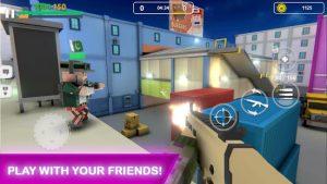 Block Gun FPS PvP War Online Gun Shooting Games MOD APK Android 5.9 Screenshot