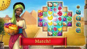 Cradle of empires match 3 game mod apk android 6.5.6 screenshot